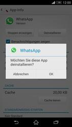 Sony Xperia Z3 Compact - Apps - Eine App deinstallieren - Schritt 7