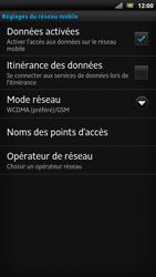 Sony LT22i Xperia P - Internet - Configuration manuelle - Étape 8