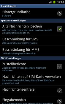 Samsung Galaxy Note - SMS - Manuelle Konfiguration - 4 / 6