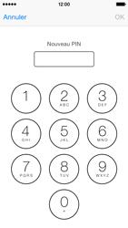 Apple iPhone 5c (iOS 8) - Sécuriser votre mobile - Personnaliser le code PIN de votre carte SIM - Étape 8