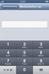 Apple iPhone 4S - Anrufe - Rufumleitungen setzen und löschen - Schritt 6