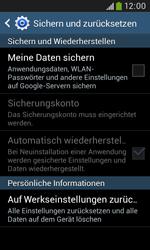 Samsung Galaxy Grand Neo - Fehlerbehebung - Handy zurücksetzen - 8 / 12