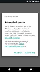 Sony Xperia XZ1 - Apps - Einrichten des App Stores - Schritt 20