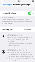Apple iPhone 5 met iOS 10 (Model A1429) - WiFi - Mobiele hotspot instellen - Stap 8