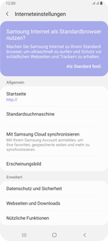 Samsung Galaxy A80 - Internet - Manuelle Konfiguration - Schritt 27