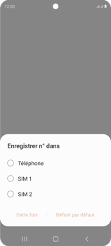Samsung Galaxy S20 FE - Contact, Appels, SMS/MMS - Ajouter un contact - Étape 5