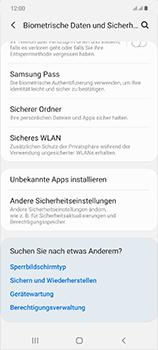 Samsung Galaxy Note 20 5G - Startanleitung - So aktivieren Sie eine SIM-PIN - Schritt 5
