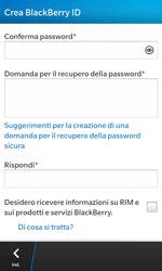 BlackBerry Z10 - Applicazioni - Configurazione del negozio applicazioni - Fase 11