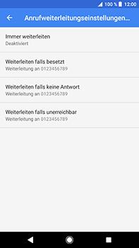 Sony Xperia XZ2 Premium - Anrufe - Rufumleitungen setzen und löschen - Schritt 10