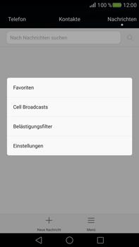 Huawei Mate S - SMS - Manuelle Konfiguration - Schritt 5