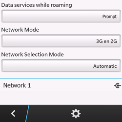 BlackBerry Q10 - Network - Manual network selection - Step 11