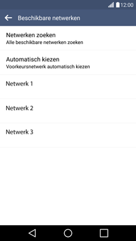 LG H815 G4 - Netwerk - Handmatig netwerk selecteren - Stap 11