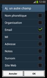 Samsung Galaxy Ace 3 - Contact, Appels, SMS/MMS - Ajouter un contact - Étape 13