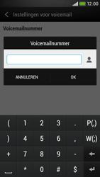 HTC Desire 601 - Voicemail - handmatig instellen - Stap 7