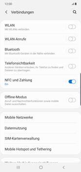 Samsung Galaxy Note 10 Plus 5G - Netzwerk - So aktivieren Sie eine 5G-Verbindung - Schritt 5