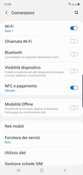 Samsung Galaxy Note 10 - WiFi - Attivare WiFi Calling - Fase 6