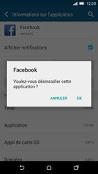 HTC One M9 - Applications - Comment désinstaller une application - Étape 7