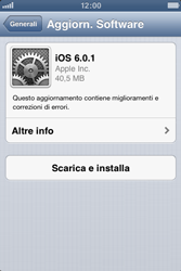Apple iPhone 3GS - Software - Installazione degli aggiornamenti software - Fase 8