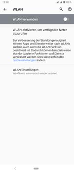 Sony Xperia 1 - WLAN - Manuelle Konfiguration - Schritt 6