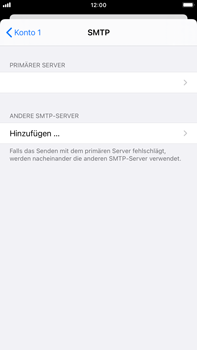 Apple iPhone 6s Plus - iOS 14 - E-Mail - Manuelle Konfiguration - Schritt 18