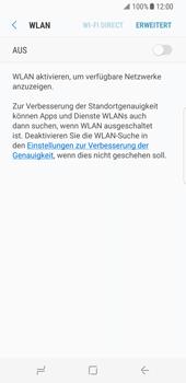 Samsung Galaxy S8 - WLAN - Manuelle Konfiguration - Schritt 6