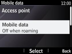 Nokia Asha 210 - Internet - Manual configuration - Step 6