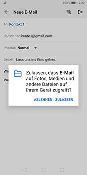 Huawei Mate 10 Pro - Android Pie - E-Mail - E-Mail versenden - Schritt 11