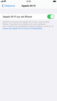 Apple iPhone 8 Plus - iOS 13 - WiFi - Activez WiFi Calling - Étape 8