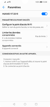 Huawei Y7 (2019) - Internet - comment configurer un point d'accès mobile - Étape 10