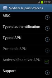 Samsung S6810P Galaxy Fame - Internet - Configuration manuelle - Étape 15