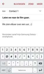 Samsung J120 Galaxy J1 (2016) - E-mail - E-mails verzenden - Stap 10