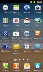 Samsung I8160 Galaxy Ace II - Voicemail - Handmatig instellen - Stap 3