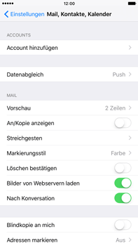 Apple iPhone 6s Plus - E-Mail - Konto einrichten (outlook) - Schritt 4