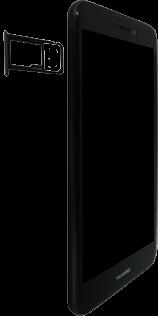 Huawei P8 Lite 2017 - SIM-Karte - Einlegen - 4 / 8
