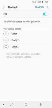 Samsung Galaxy S9 - Bluetooth - Verbinden von Geräten - Schritt 7