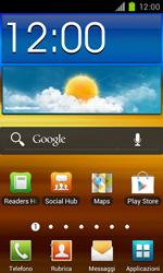 Samsung Galaxy S II - Internet e roaming dati - Uso di Internet - Fase 1