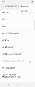 Samsung Galaxy Z flip - MMS - Manuelle Konfiguration - Schritt 14