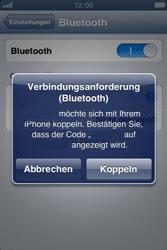 Apple iPhone 4 - Bluetooth - Verbinden von Geräten - Schritt 8