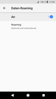 Sony Xperia XA2 Ultra - Ausland - Im Ausland surfen – Datenroaming - 12 / 14