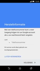HTC One M9 - apps - account instellen - stap 8