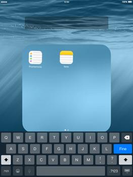 Apple iPad mini iOS 8 - Operazioni iniziali - personalizzazione della schermata iniziale - Fase 6