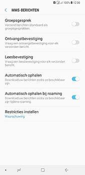 Samsung Galaxy A9 - MMS - probleem met ontvangen - Stap 9