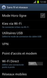 Samsung Galaxy S II - Réseau - Sélection manuelle du réseau - Étape 5