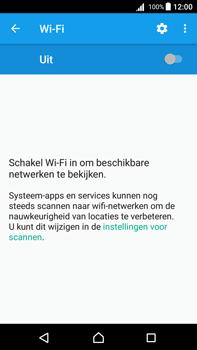 Sony Xperia Z5 Premium (E6853) - Android Nougat - Wi-Fi - Verbinding maken met Wi-Fi - Stap 5