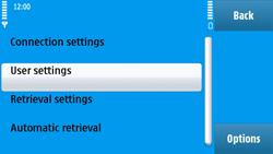 Nokia N97 - E-mail - Manual configuration - Step 28