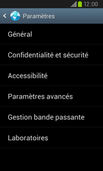 Samsung I9105P Galaxy S II Plus - Internet - configuration manuelle - Étape 20