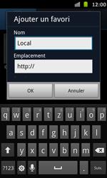 Samsung Galaxy S Advance - Internet et roaming de données - Navigation sur Internet - Étape 9