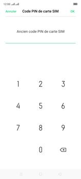 Oppo A9 2020 - Sécuriser votre mobile - Personnaliser le code PIN de votre carte SIM - Étape 9