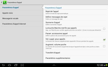 Samsung N8000 Galaxy Note 10-1 - Messagerie vocale - Configuration manuelle - Étape 6