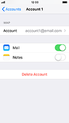 Apple iPhone 5s - iOS 12 - E-mail - Manual configuration IMAP without SMTP verification - Step 18